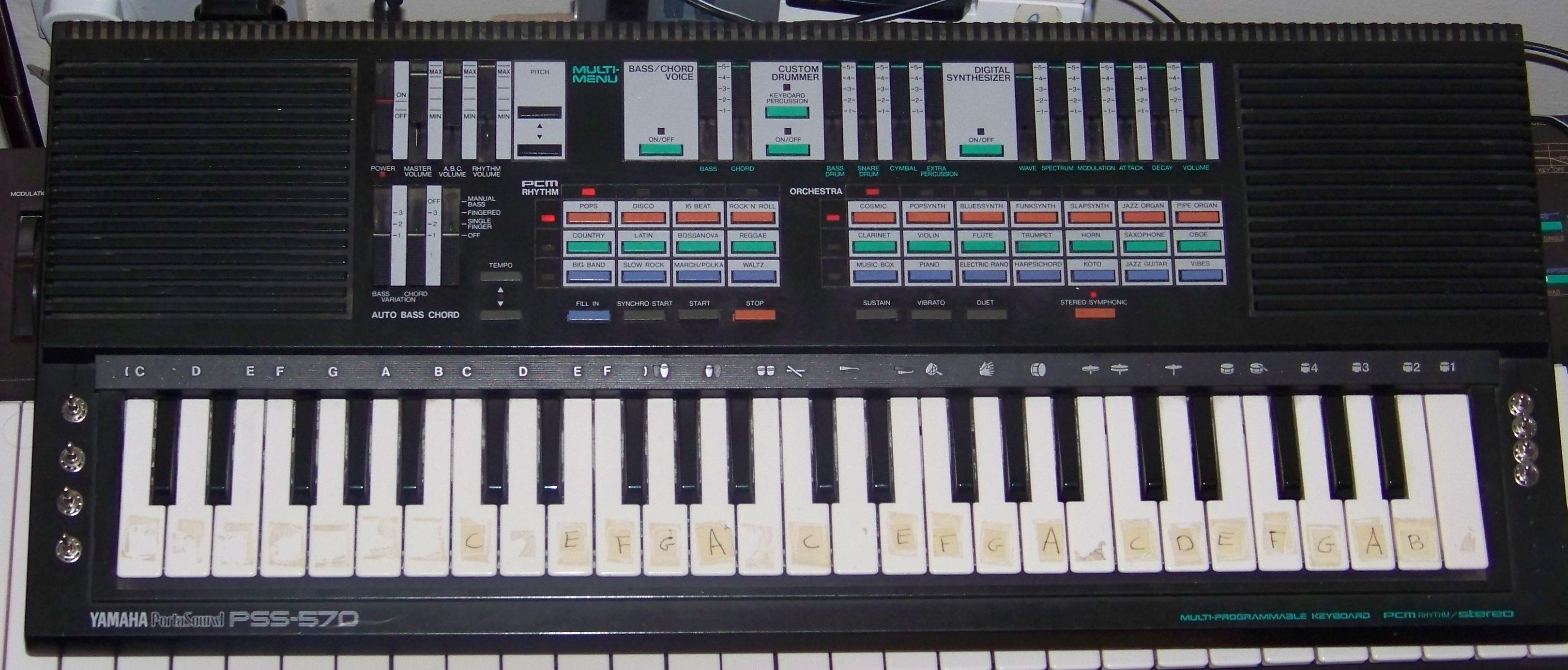 Yamaha Pss List Circuit Bending Keyboards